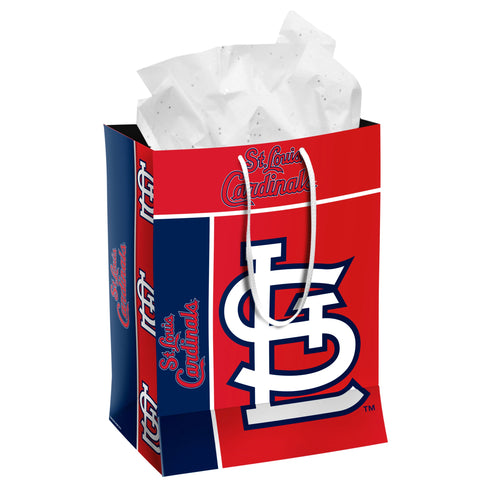 St. Louis Cardinals Medium Gift Bag