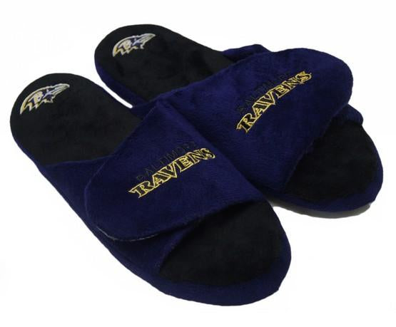 Baltimore Ravens Open Toe Slippers