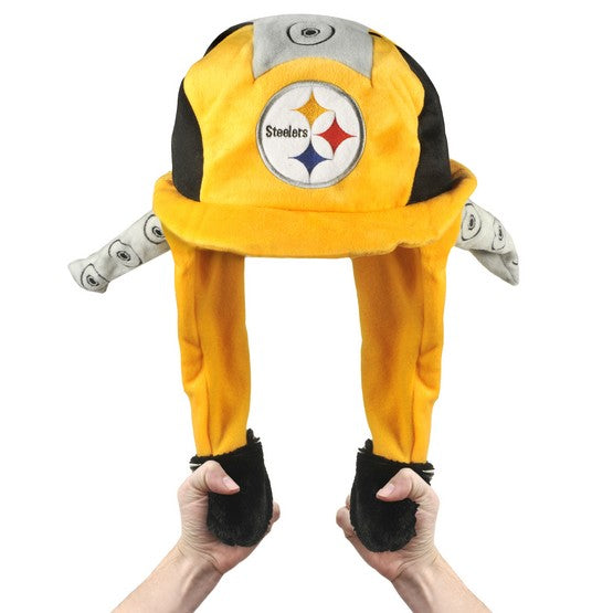 Pittsburgh Steelers Pump Action Mascot Hat