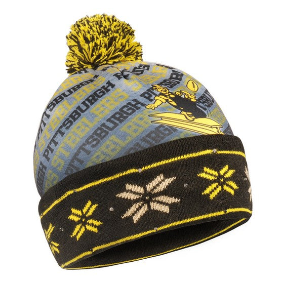 Pittsburgh Steelers Retro Light Up Knit Beanie