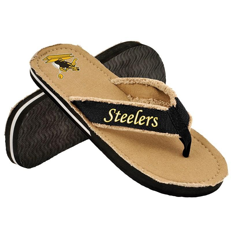 Pittsburgh Steelers Retro Flip Flop