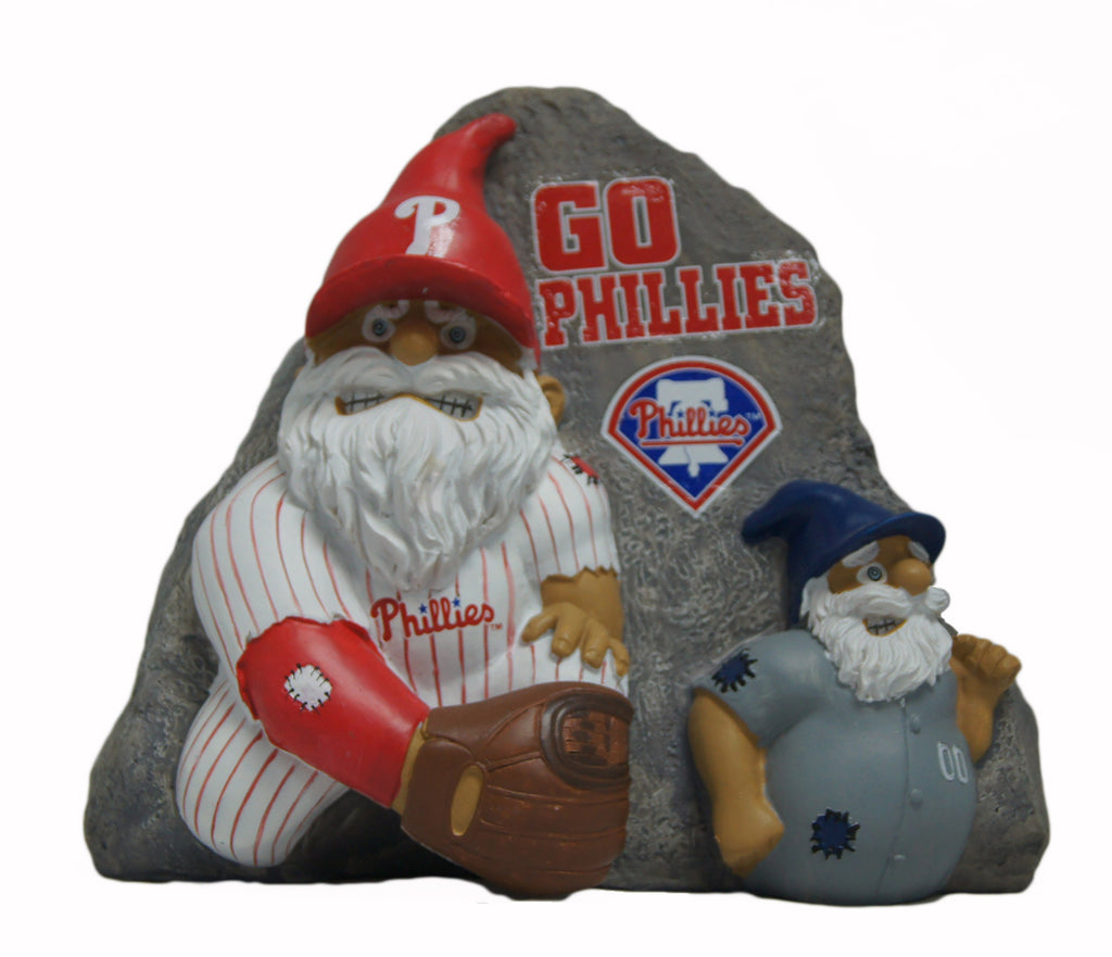 Philadelphia Phillies Rivalry Garden Stone