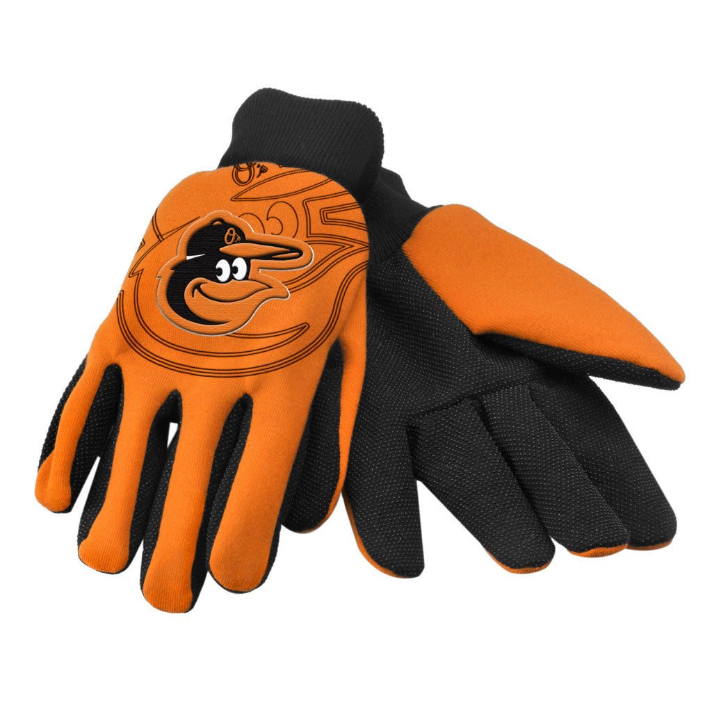 Baltimore Orioles Raised Logo Gloves