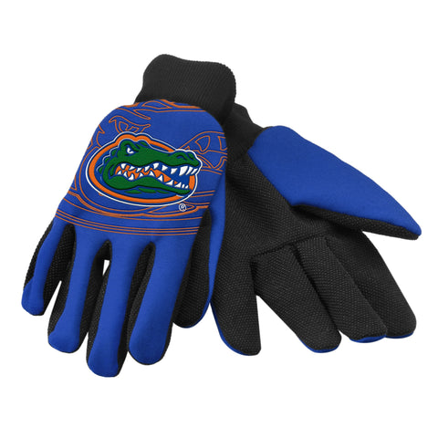 Florida Gators Raised Logo Gloves
