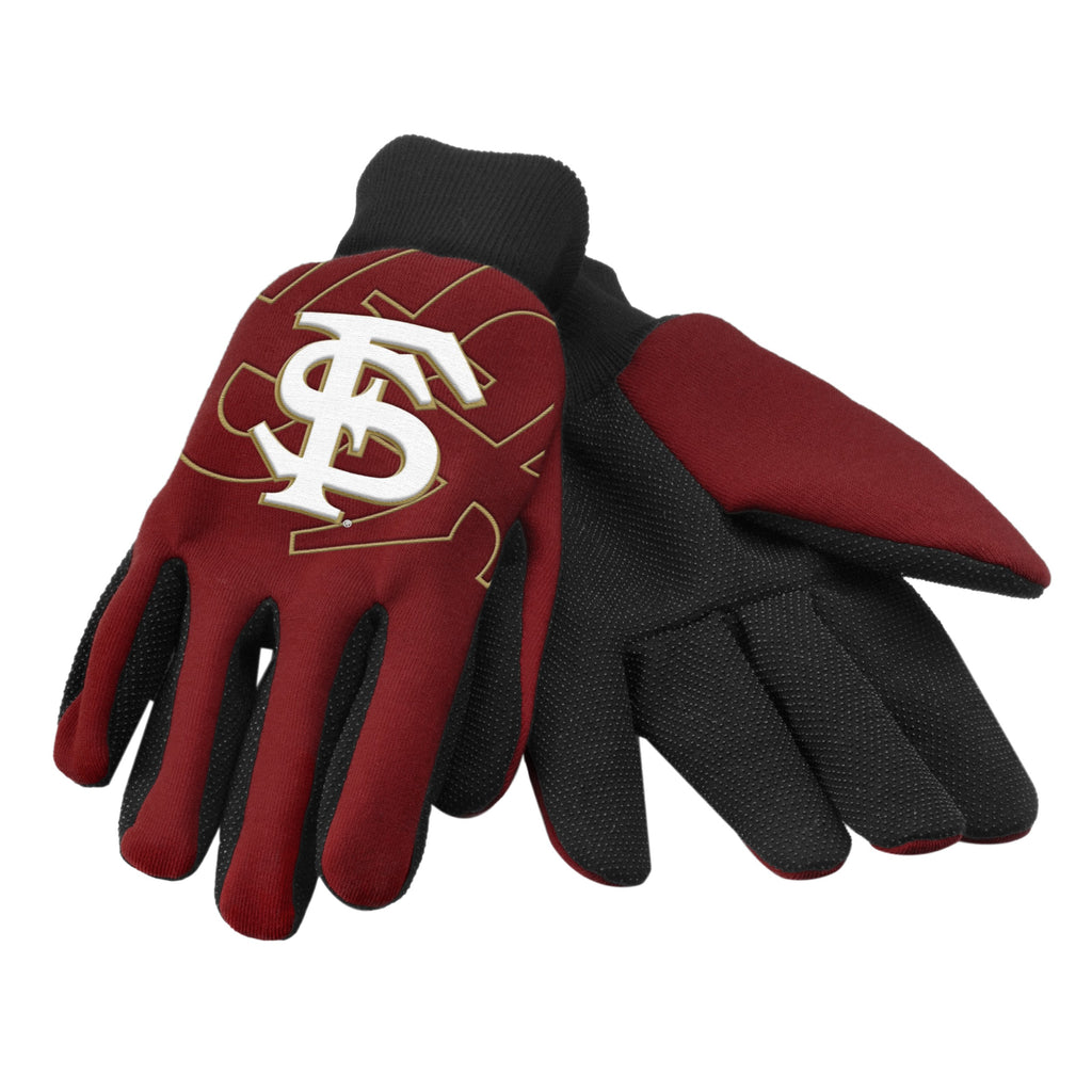 Florida State Seminoles Raised Logo Gloves
