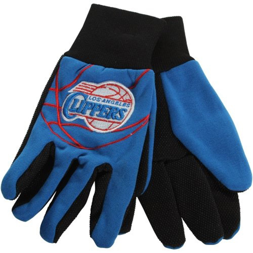 Los Angeles Clippers Raised Logo Gloves