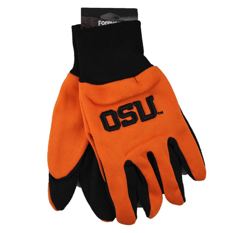 Oregon State Beavers Raised Logo Gloves