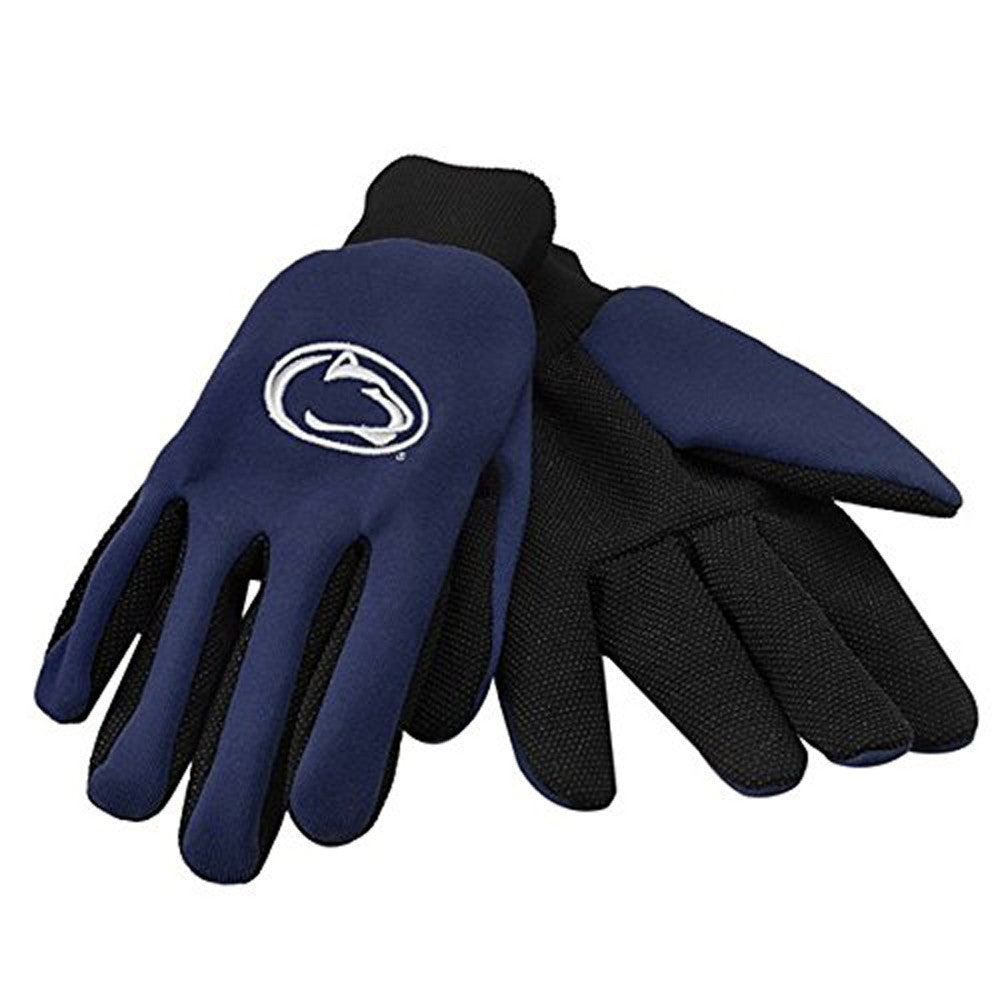Penn State Nittany Lions Raised Logo Gloves