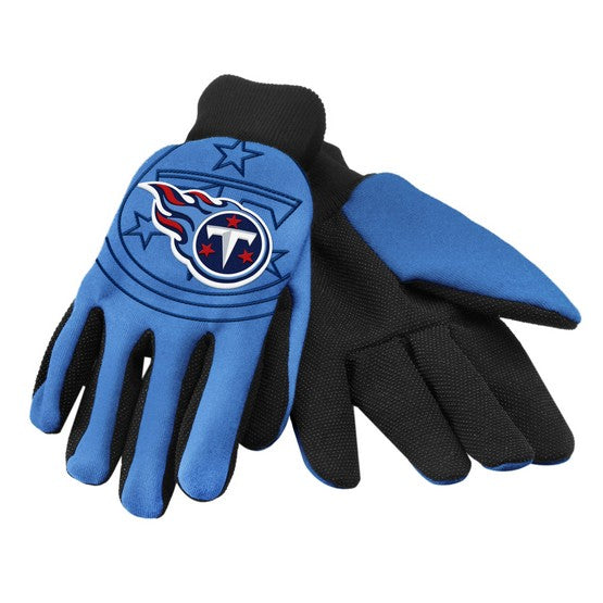 Tennessee Titans Raised Logo Gloves