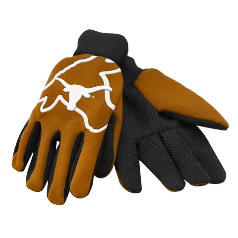 Texas Longhorns Raised Logo Gloves