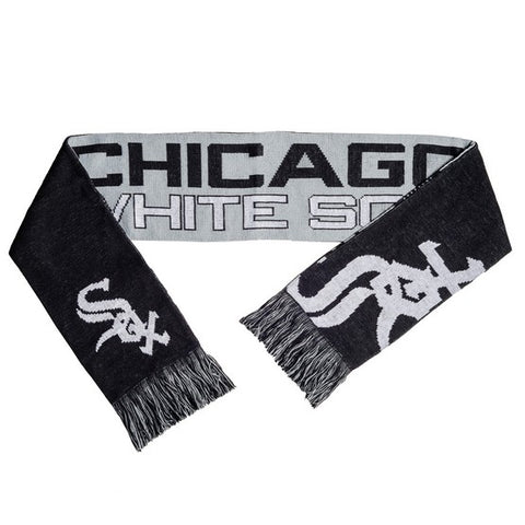 Chicago White Sox Reverse Split Logo Scarf