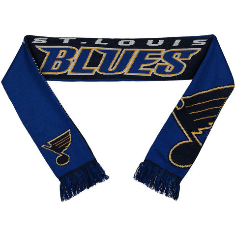 St. Louis Blues Reverse Split Logo Scarf