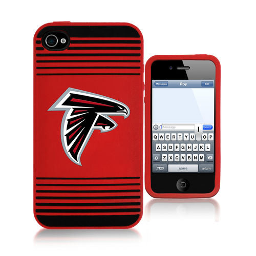 Atlanta Falcons Soft Case i4 Stripe Logo