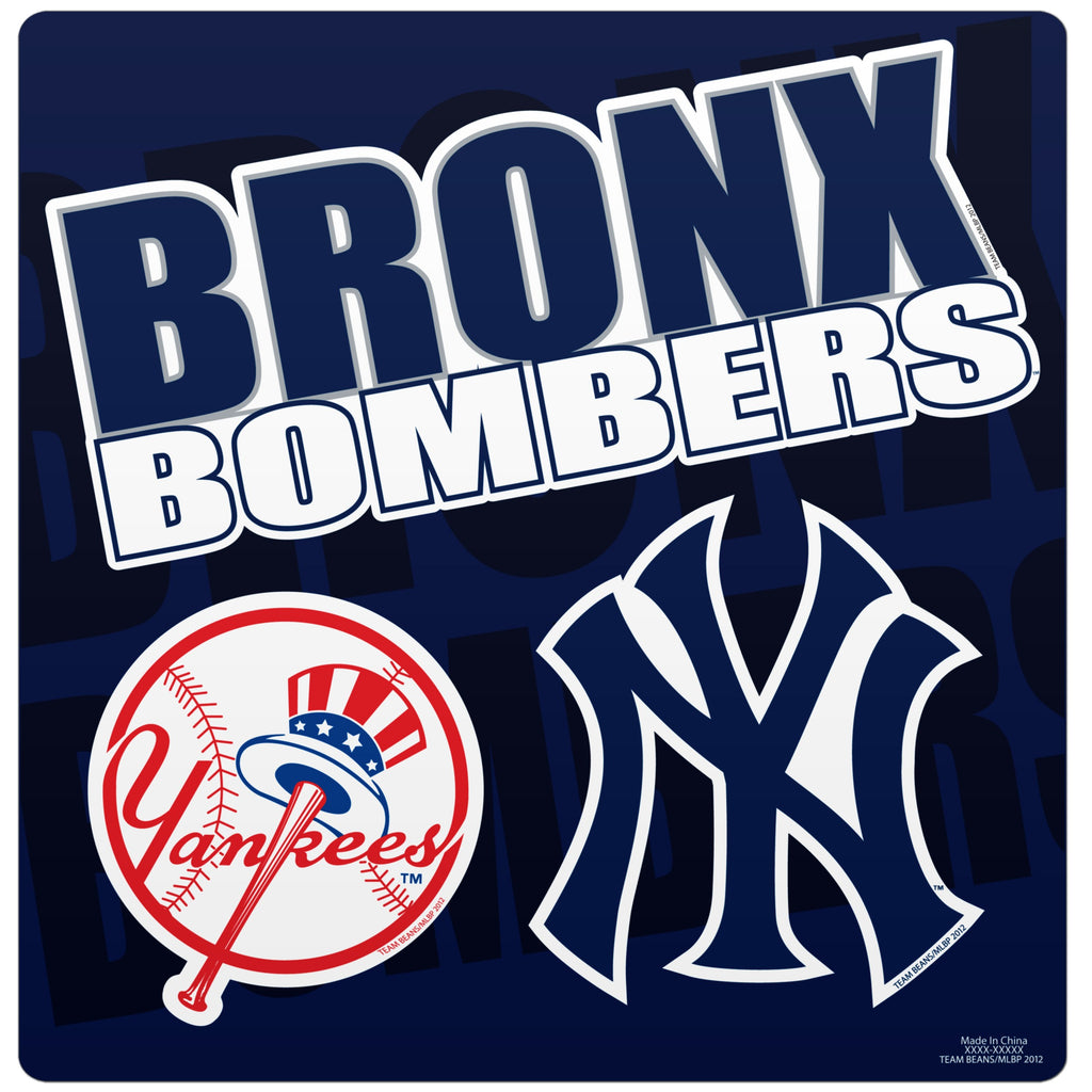New York Yankees Slogan Magnet Sheet