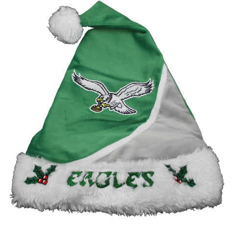 Philadelphia Eagles Retro Swoosh Santa Hat