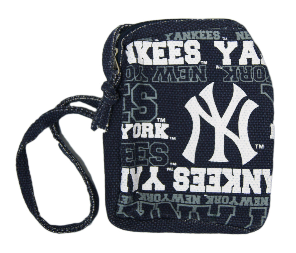 New York Yankees Wordmark Side Pouch