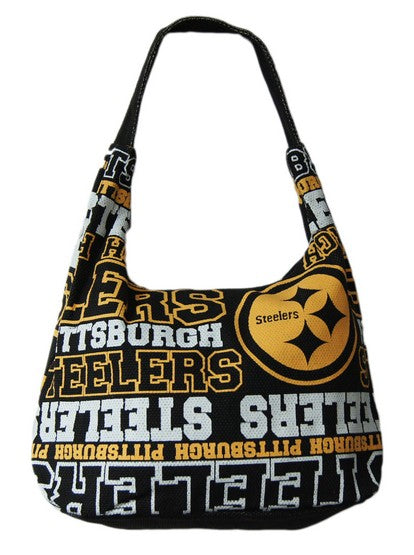 Pittsburgh Steelers Wordmark Side Tote