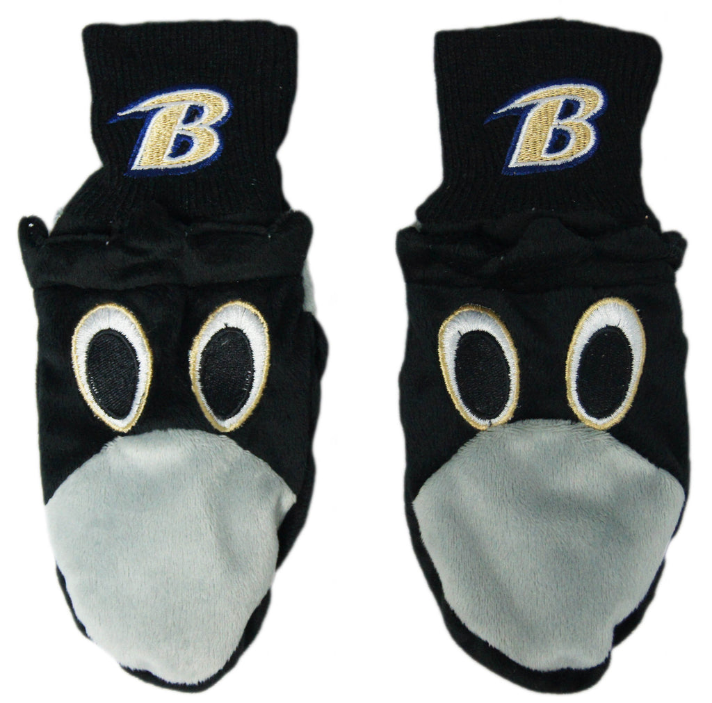 Baltimore Ravens Youth Mascot Mittens