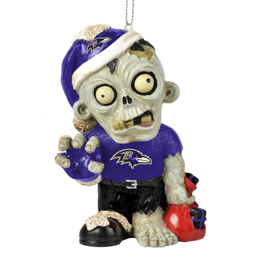 Baltimore Ravens Zombie Ornament