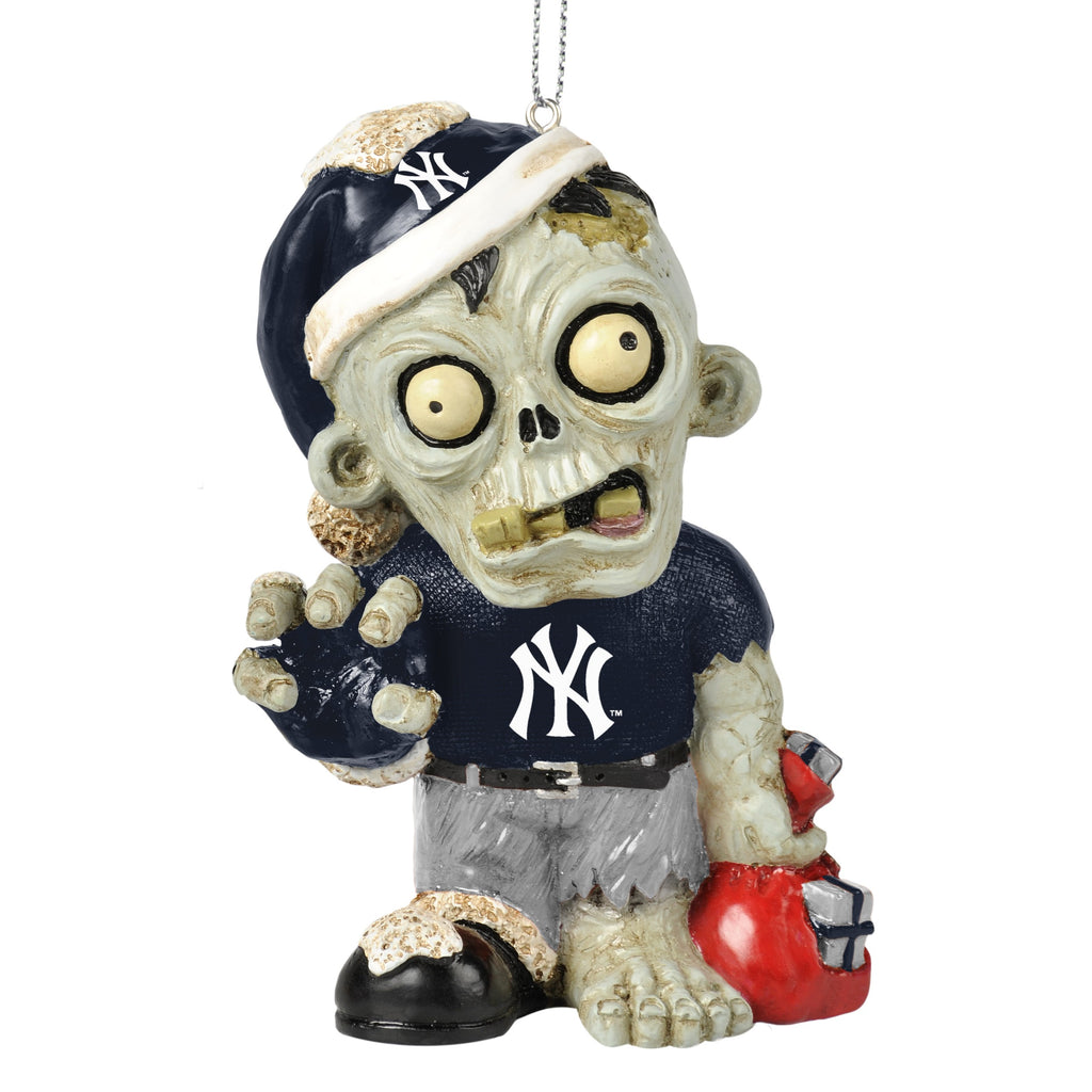 New York Yankees Zombie Ornament