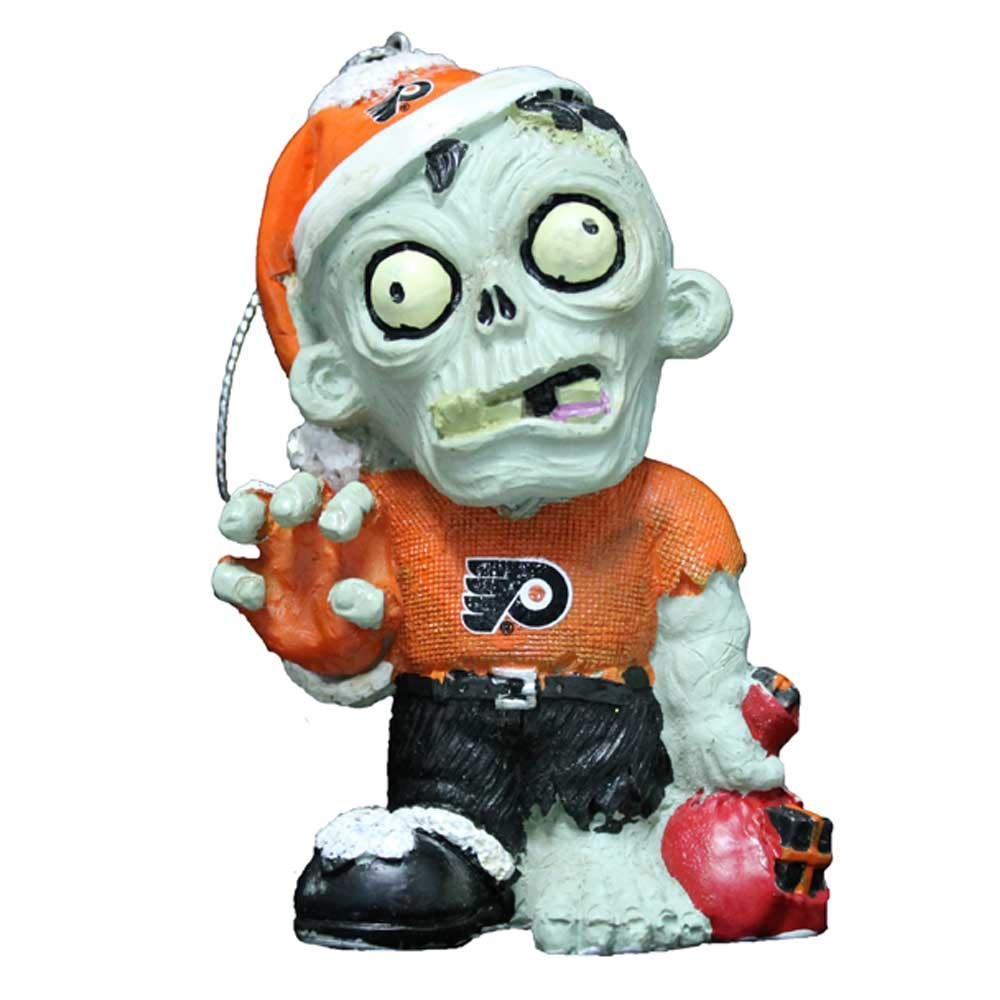Philadelphia Flyers Zombie Ornament