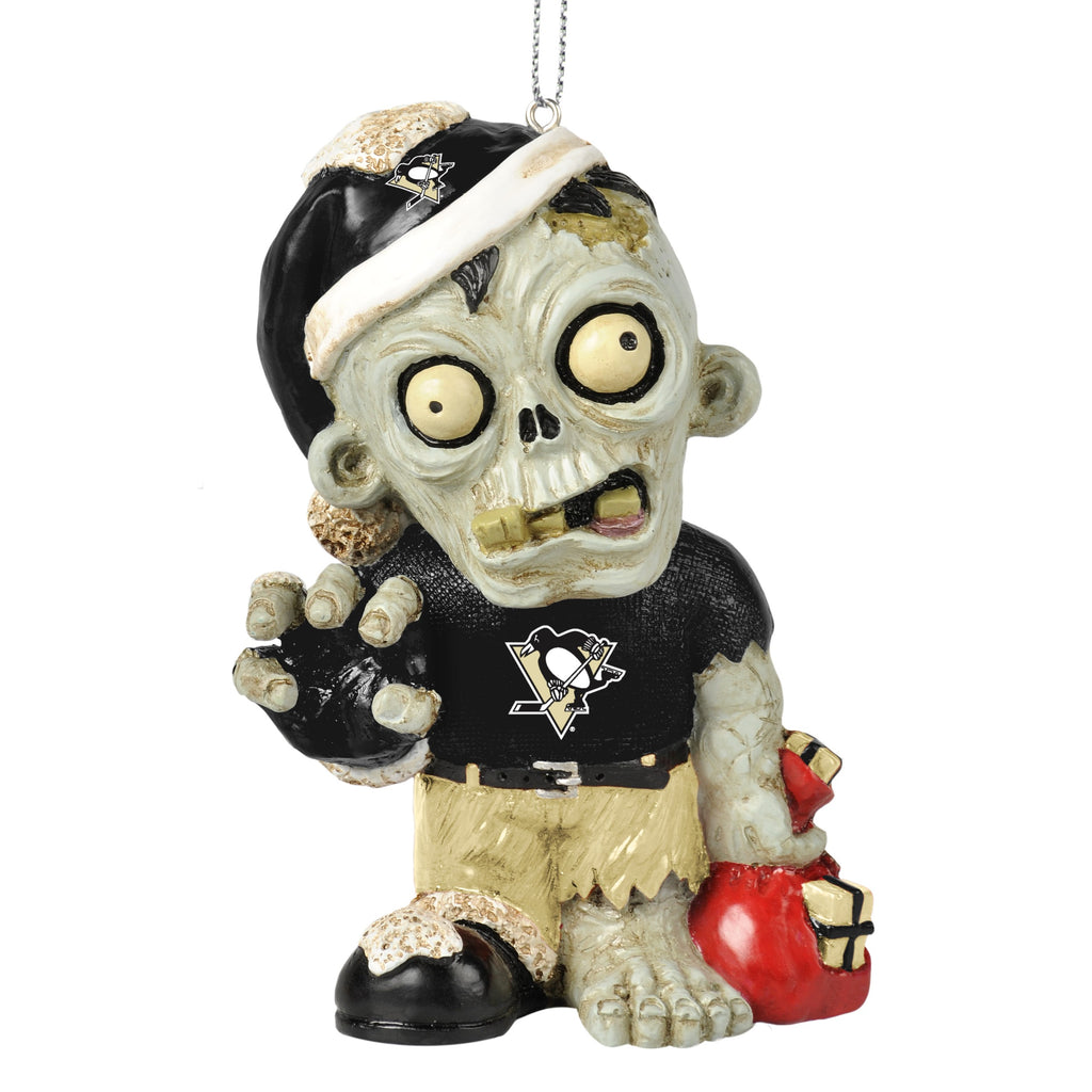 Pittsburgh Penguins Zombie Ornament