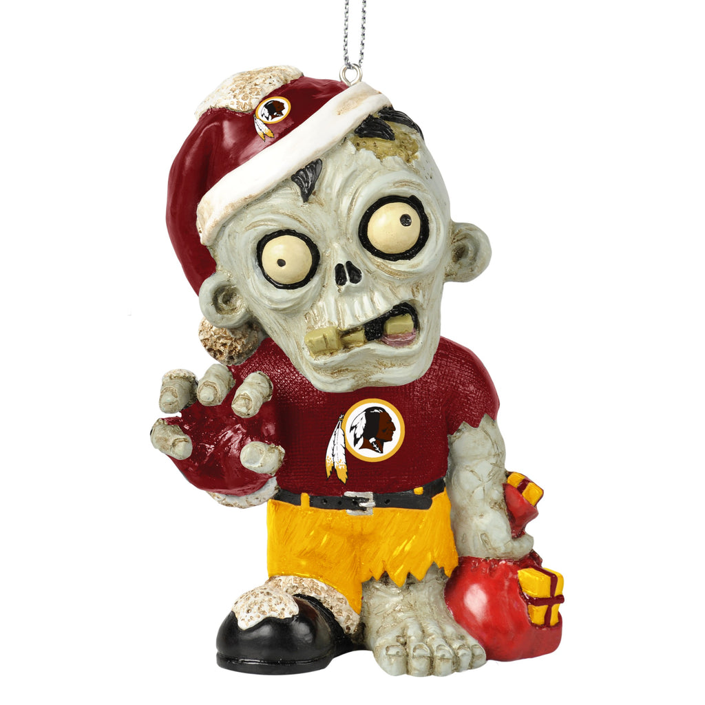 Washington Redskins Zombie Ornament