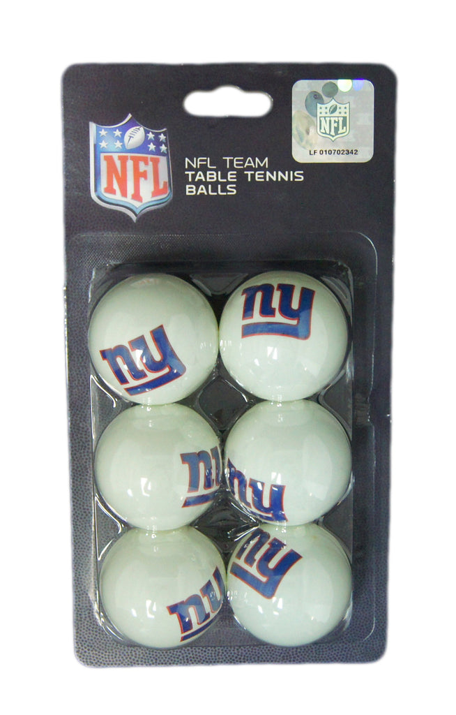 New York Giants 6 Pk Tennis Balls