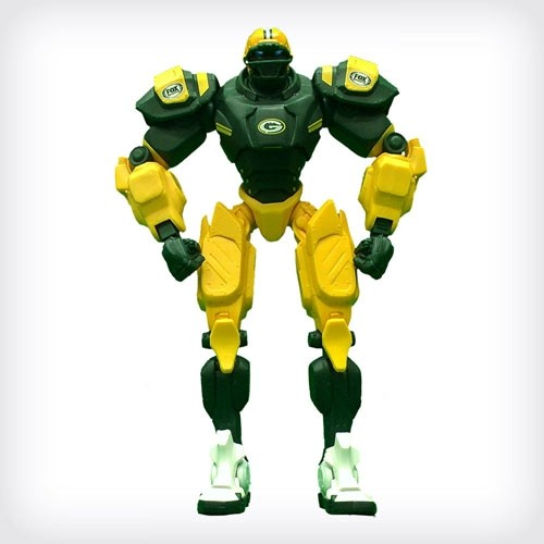 Green Bay Packers Team Cleatus Robot