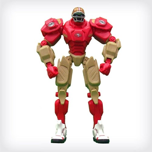 San Francisco 49ers Team Cleatus Robot