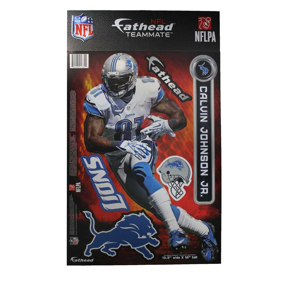 Detroit Lions Team Player FatHead