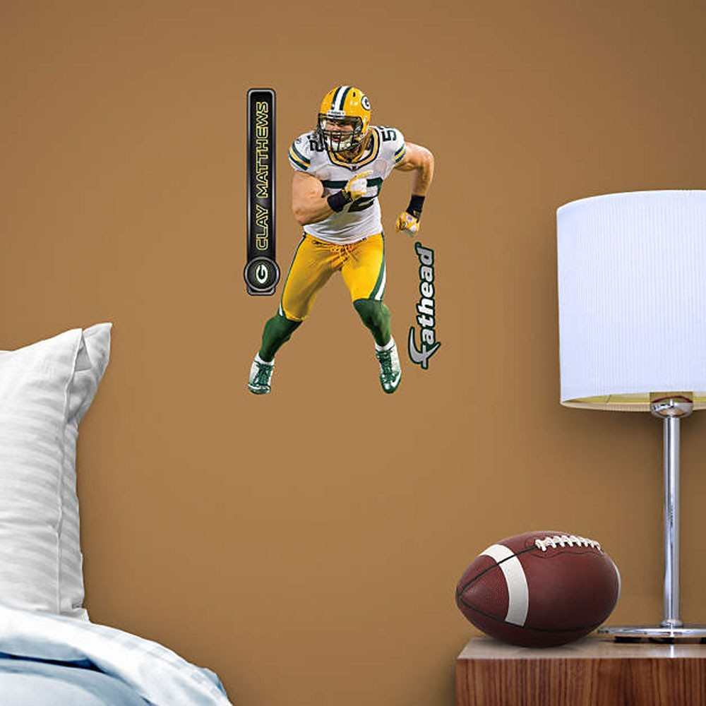 Green Bay Packers Team Player FatHead
