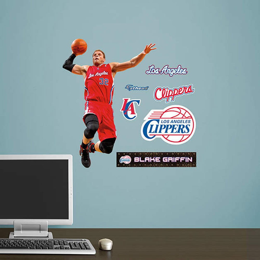 Los Angeles Clippers Team Player FatHead