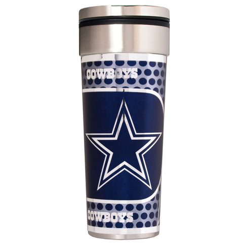 Dallas Cowboys 22oz Big Slim Tumbler