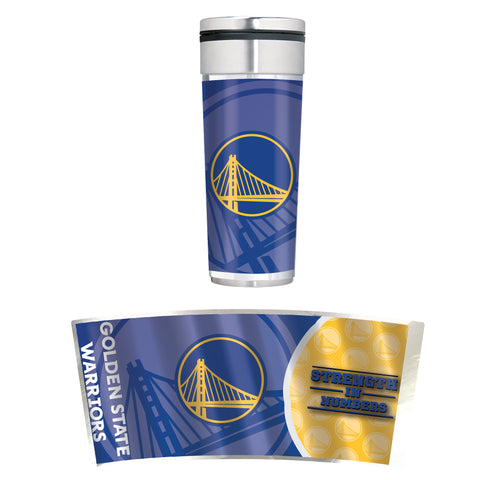 Golden State Warriors 22oz Big Slim Tumbler
