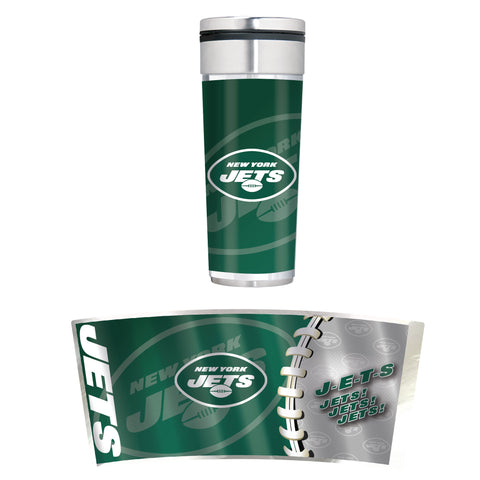 New York Jets 22oz Big Slim Tumbler
