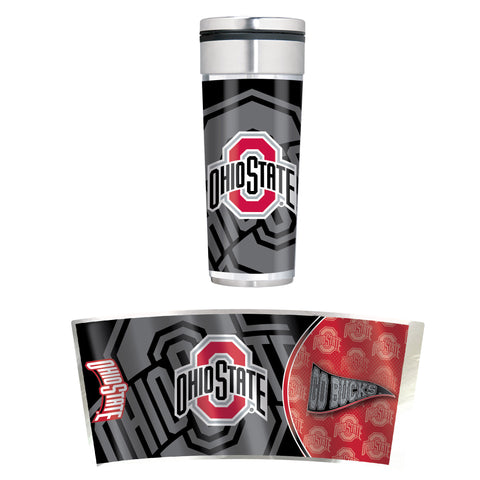 Ohio State Buckeyes 22oz Big Slim Tumbler
