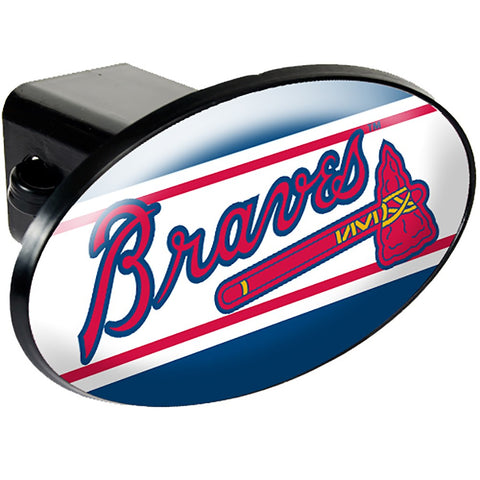 Atlanta Braves Oval Hitch Cover