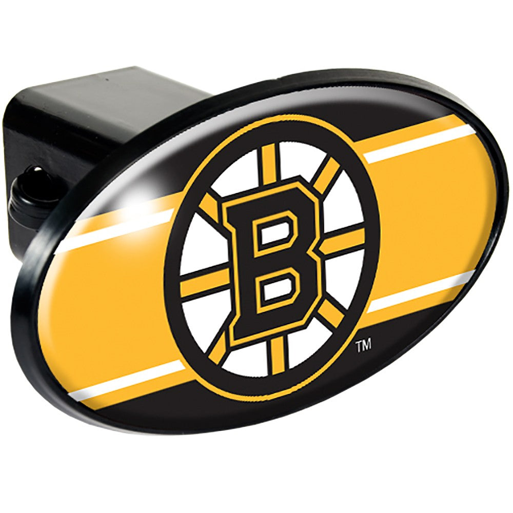 Boston Bruins Oval Hitch Cover