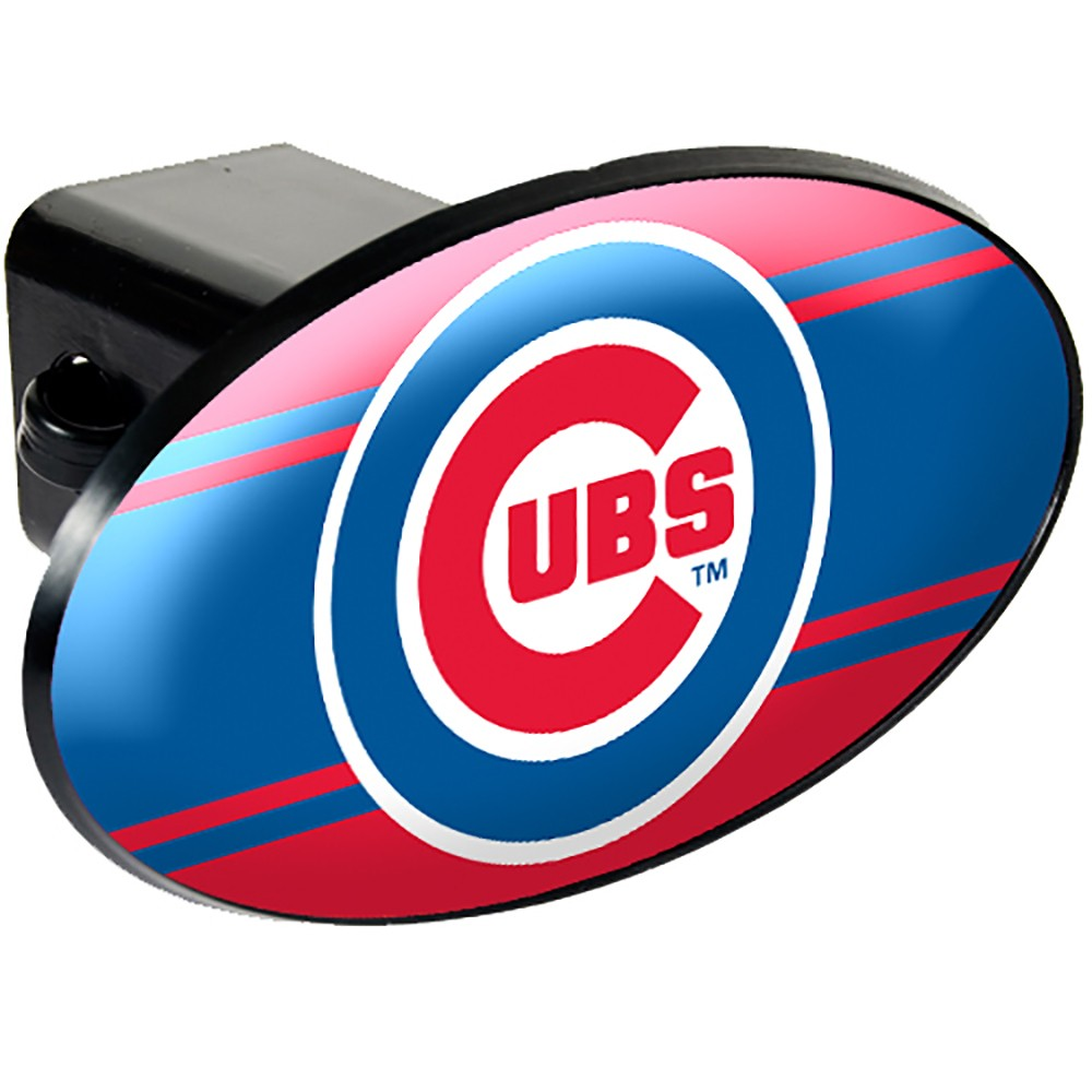 Chicago Cubs Oval Hitch Cover