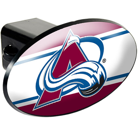 Colorado Avalanche Oval Hitch Cover