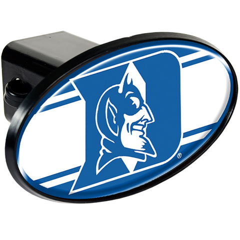 Duke Blue Devils Oval Hitch Cover