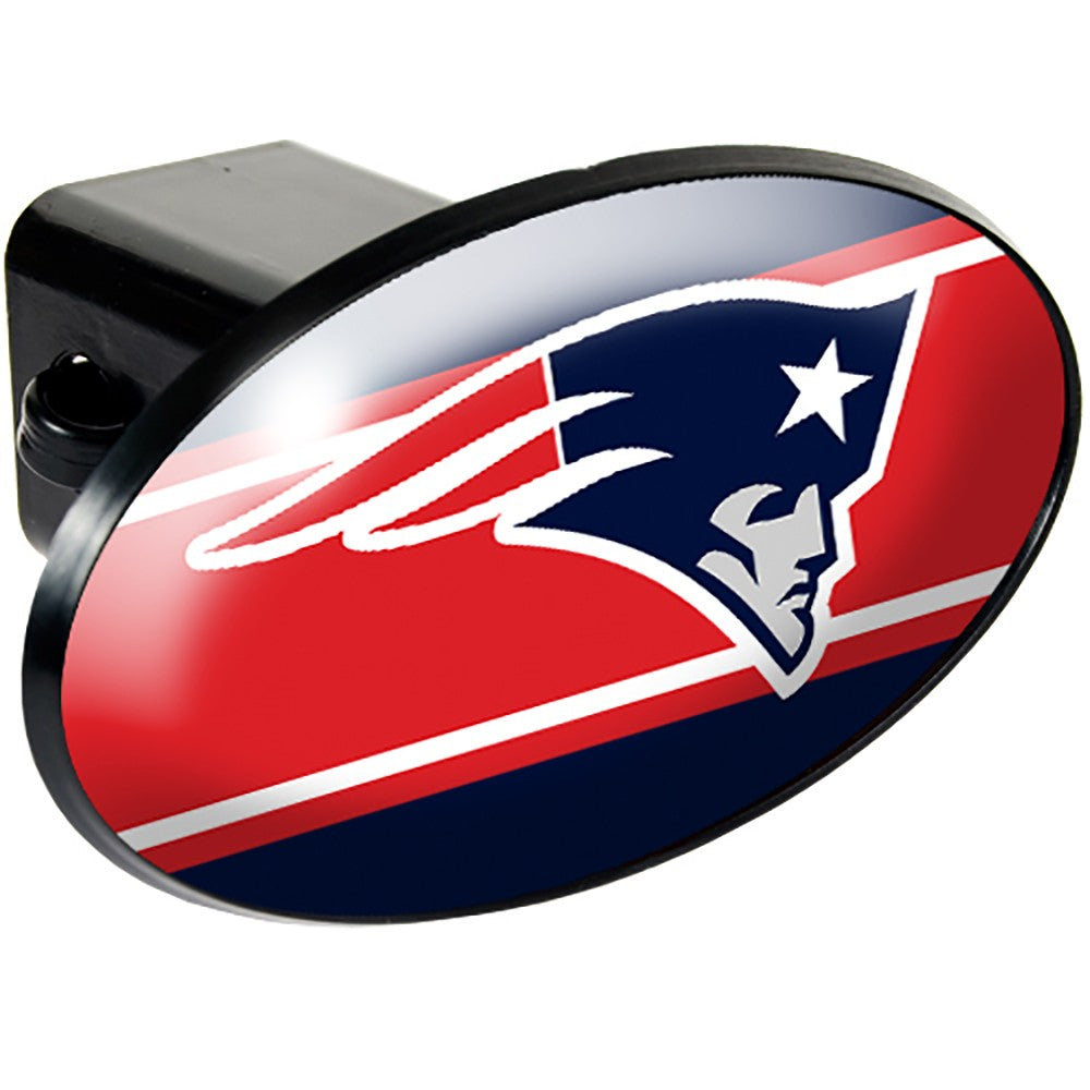 New England Patriots Oval Hitch Cover