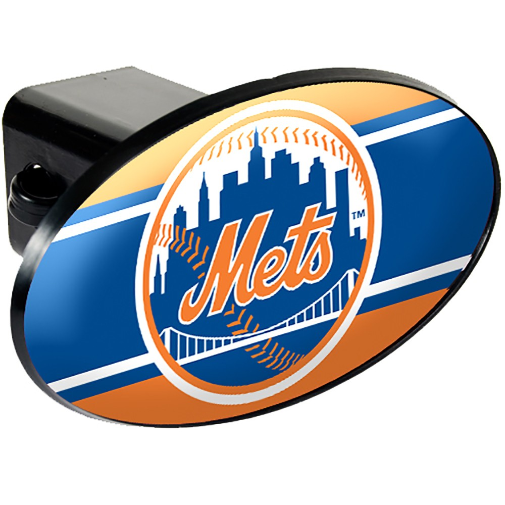 New York Mets Oval Hitch Cover