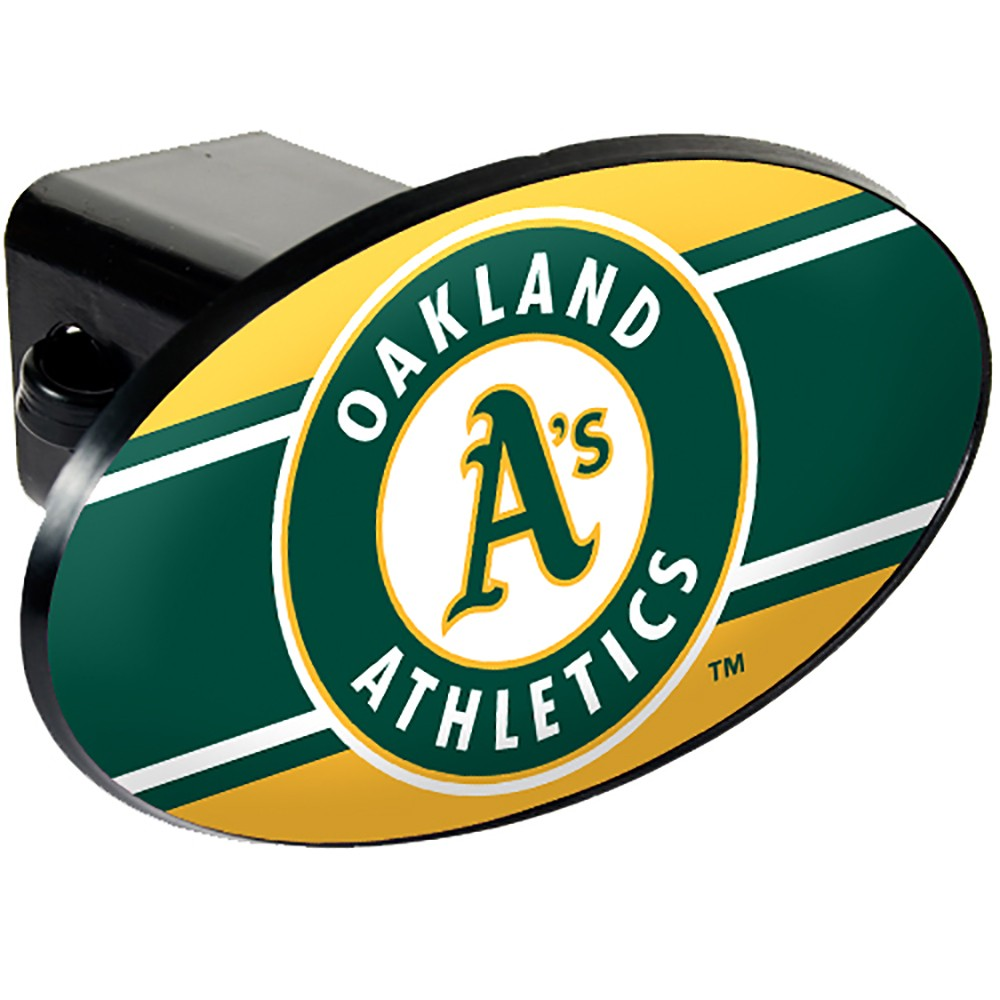 Oakland Athletics Oval Hitch Cover
