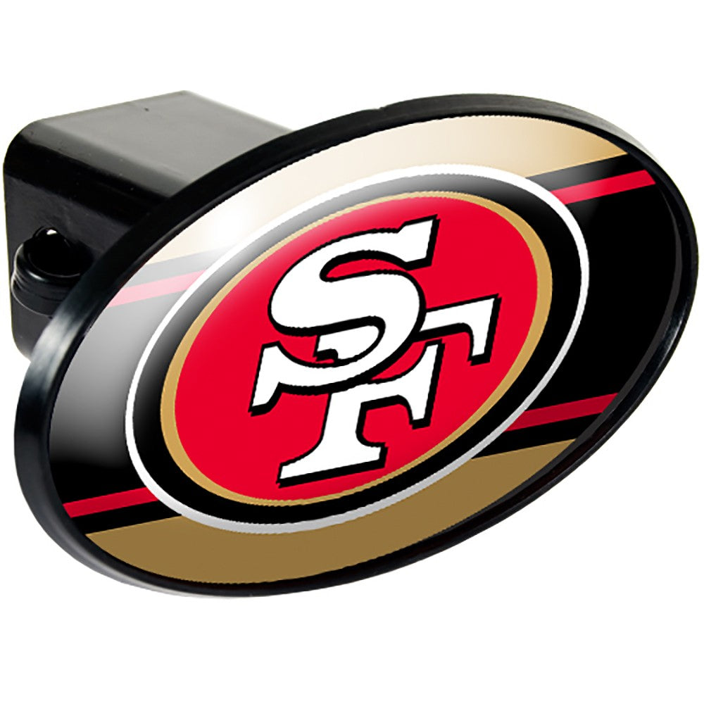 San Francisco 49ers Oval Hitch Cover
