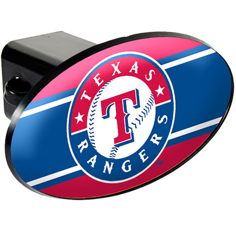 Texas Rangers Oval Hitch Cover