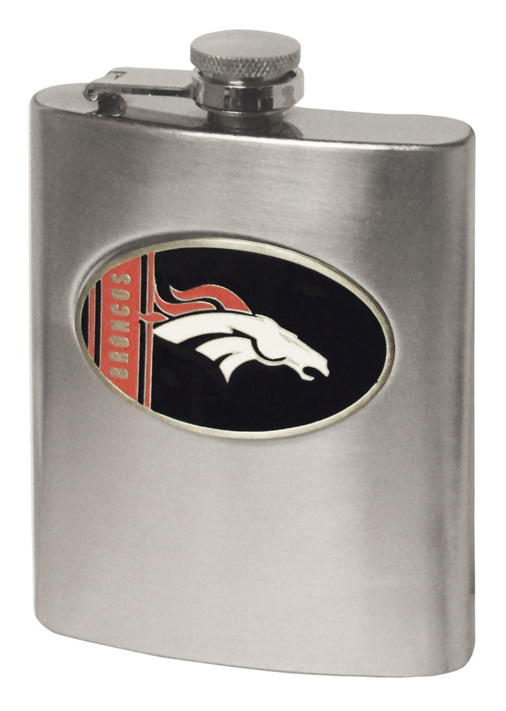Denver Broncos Hip Flask