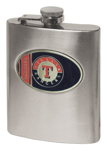 Texas Rangers Hip Flask