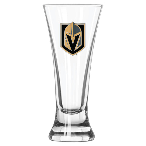 Vegas Golden Knights Logo Glass Pilsner